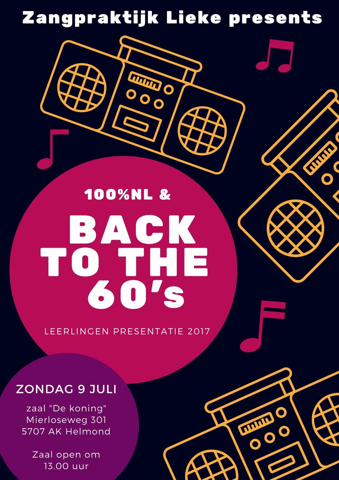 Leerling presentatie 2017, zangles Aarle Rixtel, regio Helmond, Eindhoven